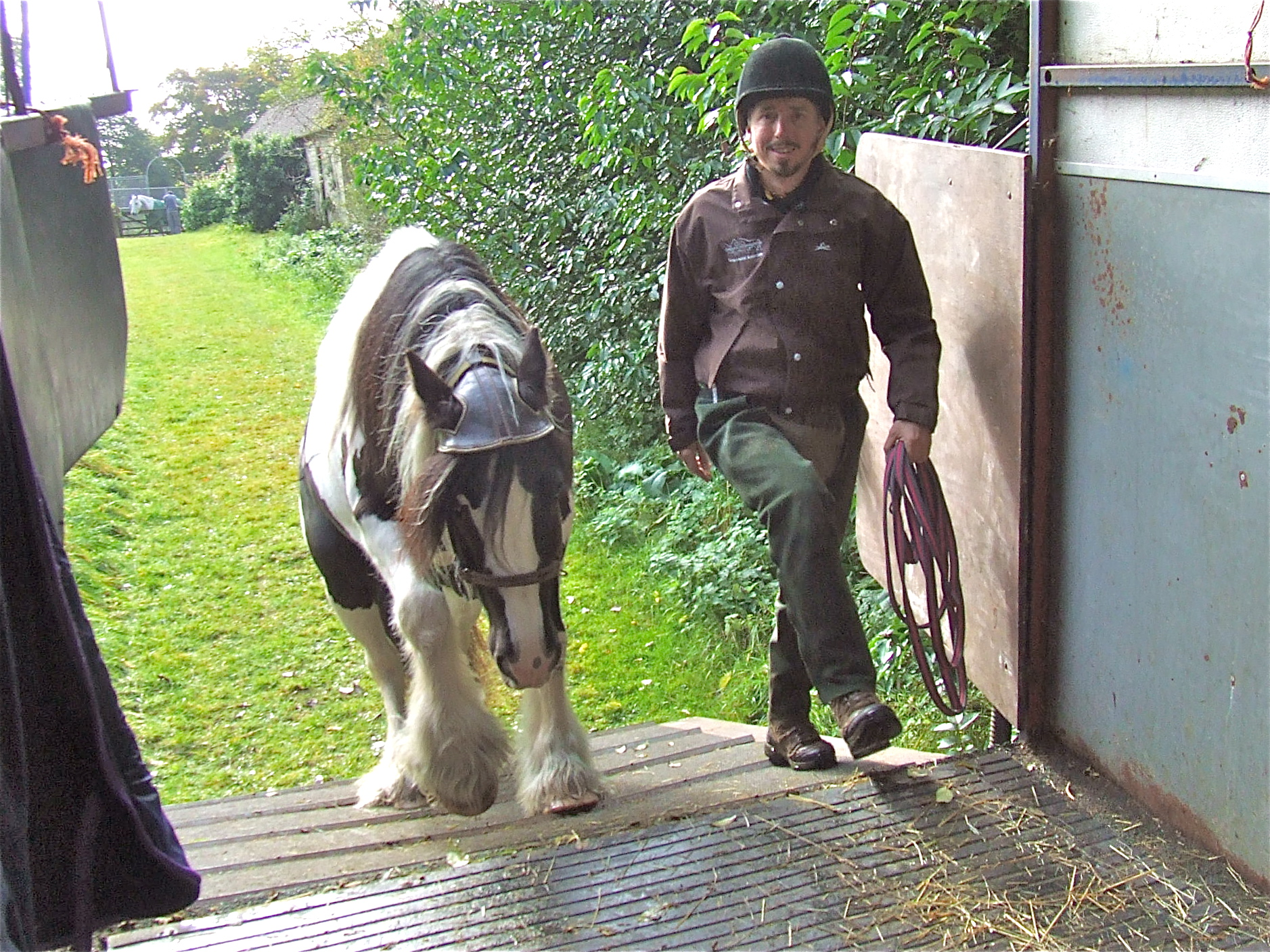 loading intelligent horsemanship moor wood stables adam